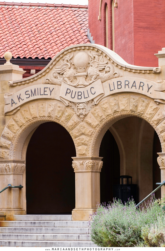 A.K. Smiley Public Library Redlands photos by Maria and Seth Photography